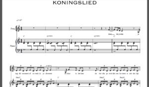 koningslied-tekst-bladmuziek